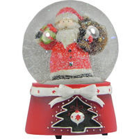 Christmas Snowglobe with Santa