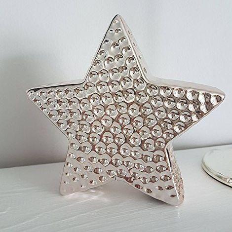 Christmas Star Ornament Rose Gold