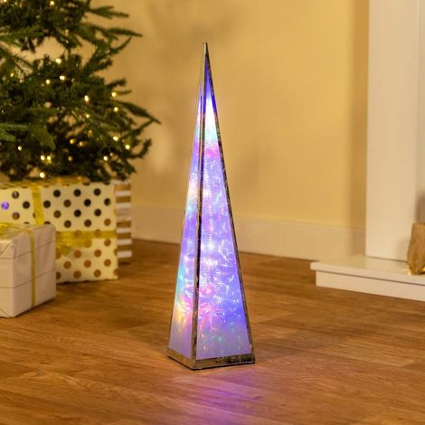 Christmas Starburst Pyramid Lantern