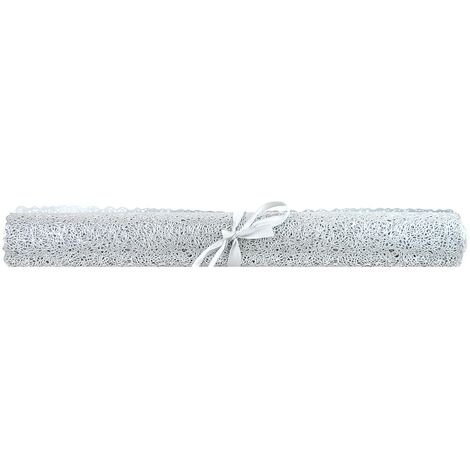 Christmas Table Runner All In one Table Mat Xmas Dinner Decoration Silver Party Tableware Place Mat Festive