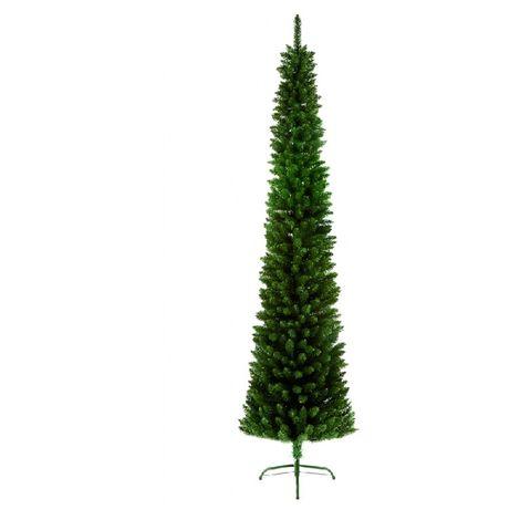 Christmas Tree Green Pencil Pine Slim Tree - 200 CM