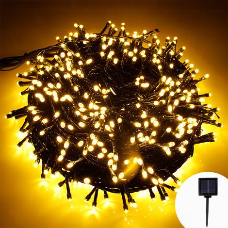 """main image of """"Christmas Tree Lights, 200LED 20M Christmas Lights Outdoor String Led Lights IP44 Waterproof 8 Mode Decorative Light Chain for Christmas Indoor Garden Bed Party Home [Energy efficiency class A +++]"""""""