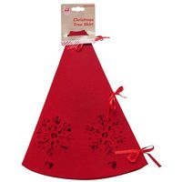 Christmas Tree Skirt Red UBL