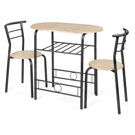 Christow 3 Piece Breakfast Dining Set
