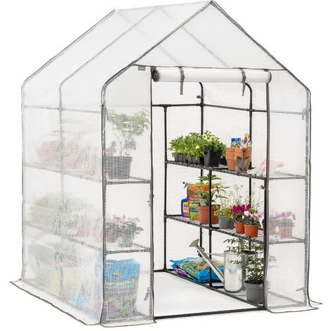 Christow Large Reinforced Walk-In Greenhouse