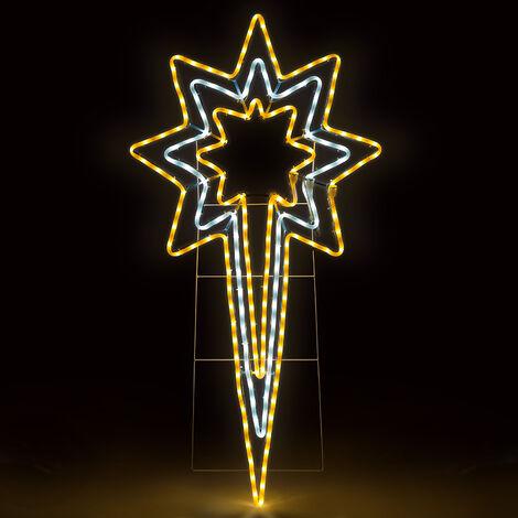 Christow LED Flashing North Star Rope Light