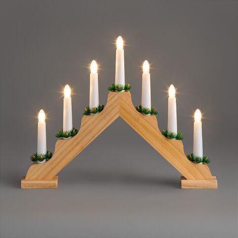 Christow Mains Powered LED Candle Bridge
