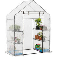 Christow Medium Reinforced Walk-In Greenhouse