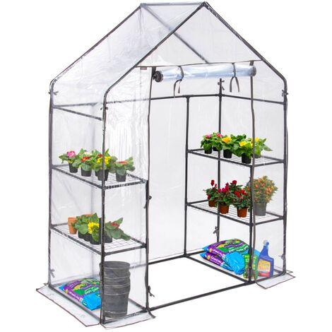 Christow Medium Walk-In PVC Greenhouse