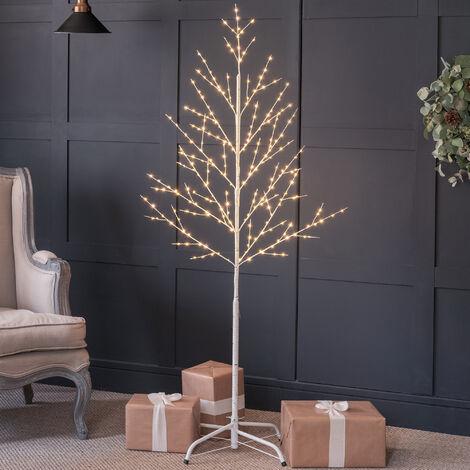 Christow Pre-Lit Micro LED Christmas Twig Tree
