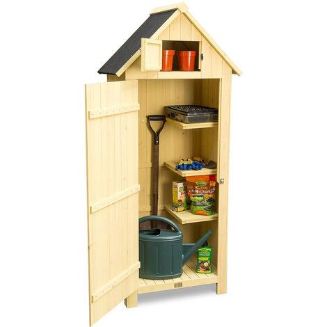 Christow Slimline Garden Shed With Lockable Door