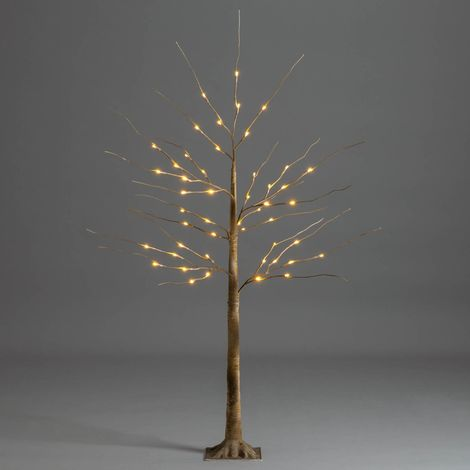 Christow Warm White LED Christmas Birch Tree