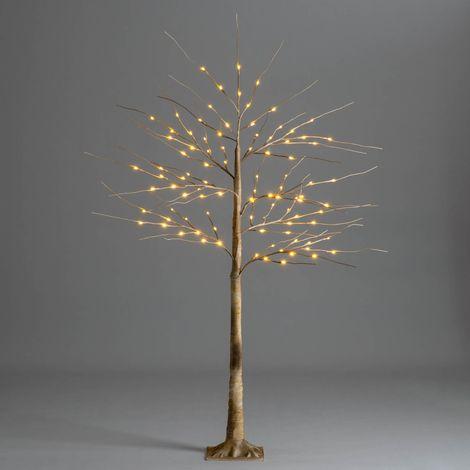 Christow Warm White LED Christmas Birch Tree