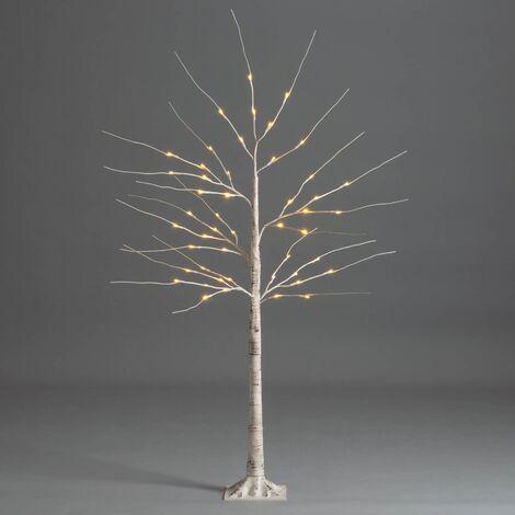 Christow White Birch LED Christmas Tree