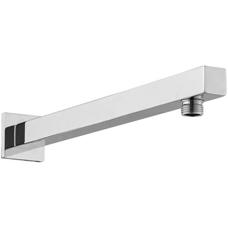 Chrome 345mm Square Fixed Shower Arm