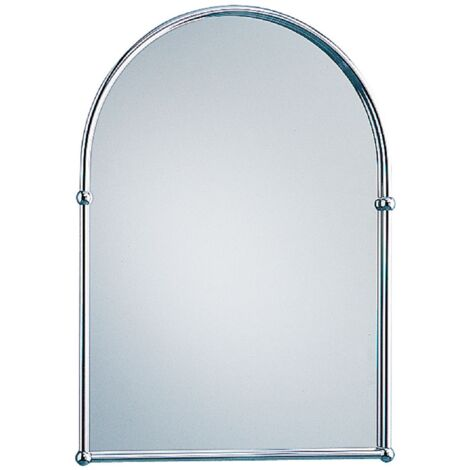 Chrome Arched Mirror
