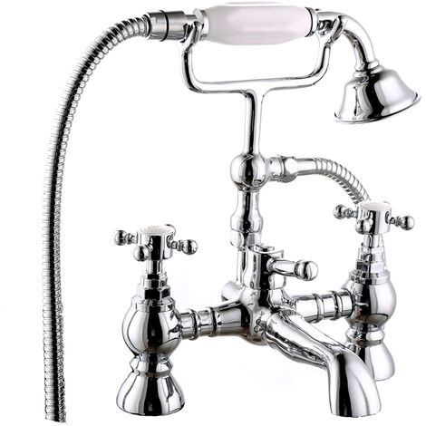 Chrome Bathroom Tap Type J
