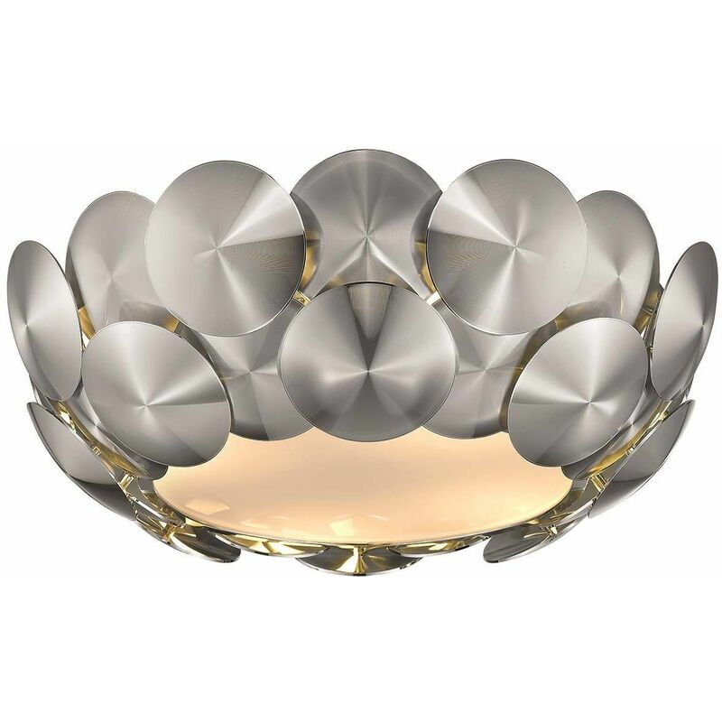 Image of Chrome ceiling lamp CHESTER 4 lights