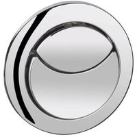 Chrome Dual Flush Push Button