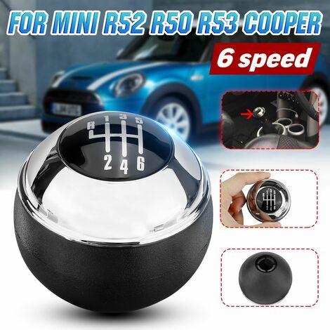 Chrome Manual 6 Speed ??Shift Knob For MINI R50 R52 R53 COOPER 25117542272