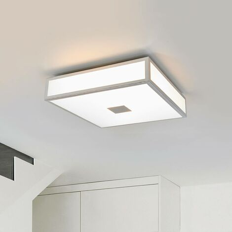 Chrome-plated bathroom ceiling lamp Eniola