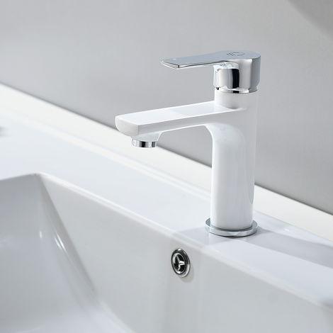 Chrome Single Handle Basin Tap Bathroom Sink Mixer Tap