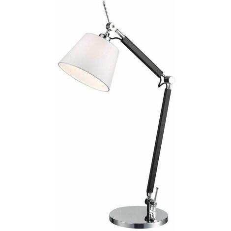Chrome table lamp 1 Bulb