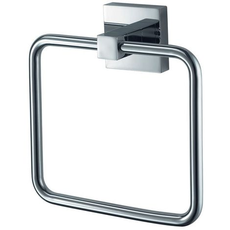 Chrome Towel Ring - Rosa by Voda Design