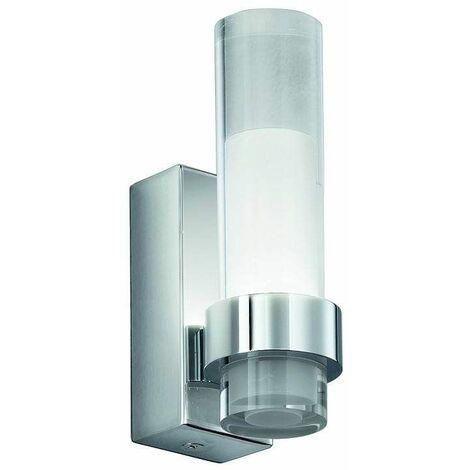 Chrome Wall Light LED 1 Bulb Width 4 Cm