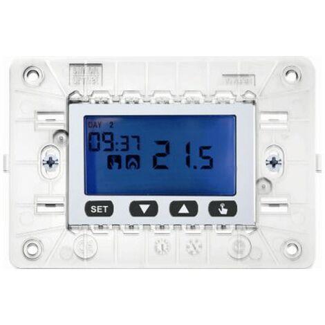 Chrono-Urmet Simon Nea semanal LCD de 3 Módulos blanco 10633.B