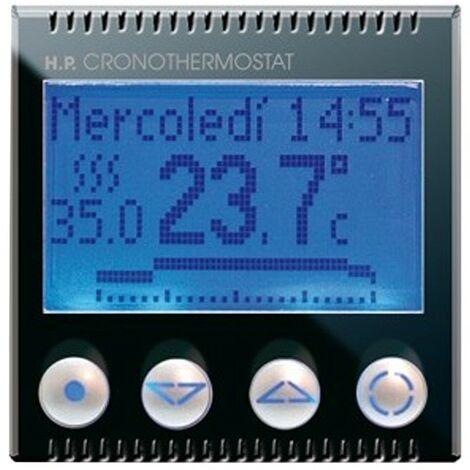 Chronothermostat semanal Ave Sistema de Vida 44 retroiluminada 442CRT