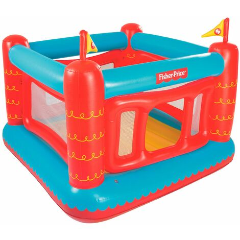 Chteau Gonflable Bestway Fisher Price Bouncetastic - 93504