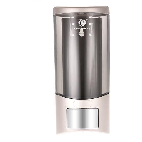 CHUANGDIAN Wall-mounted Single Bottle Manual Soap Dispenser Hand Washing Liquid Soap Dispenser& Holder 500ml