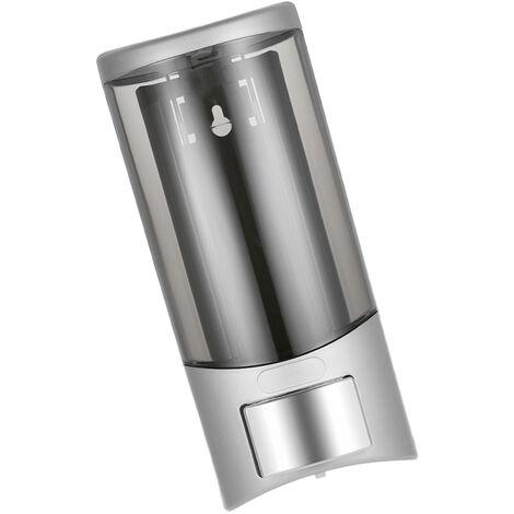 CHUANGDIAN Wall-mounted Single Bottle Manual Soap Dispenser Holder 500ml