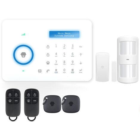 Chuango B11 315MHz Sistema de seguridad de alarma GSM PSTN de marcado automatico inalambrico