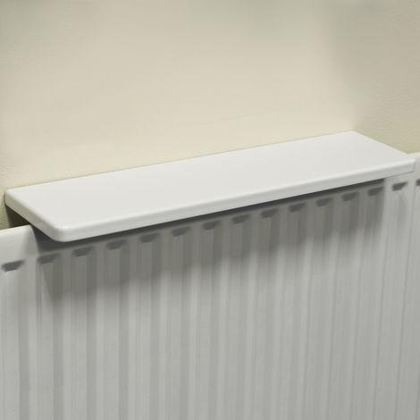 Chunky Over Radiator Shelf 60cm / 2ft - White