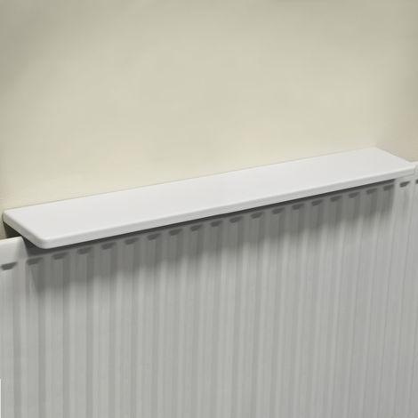 Chunky Over Radiator Shelf 90cm / 3ft - White