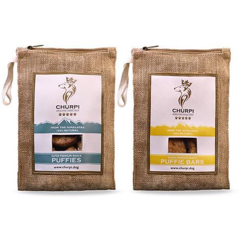 Churpi Puffies: premios crujientes naturales para perro