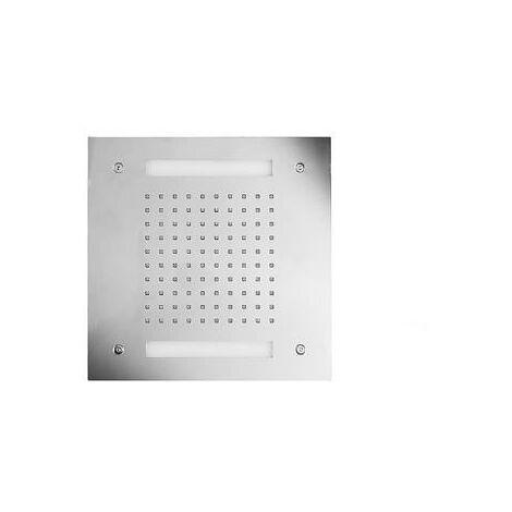 Ciel de pluie carrée 30 cm avec télécommande Chromothérapie HYDROTHERAPIE - CRISTINA ONDYNA TT30051