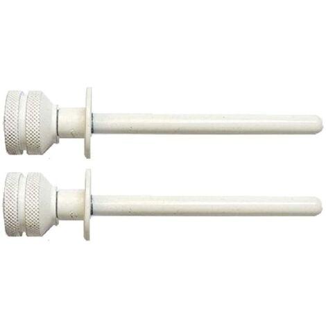 Cierre de ventana blanco (2 uds)