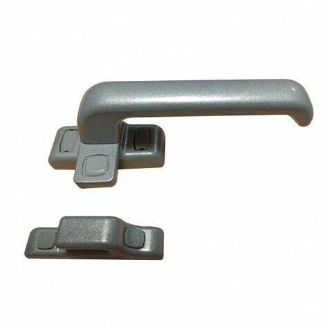 Cierre Ventana Pres Aluminio Plata 6801 Izq