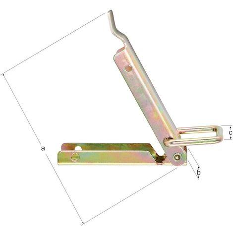 Cierres de caja, K2 75 mm