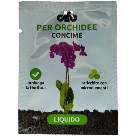 Cifo GRANVERDE ORCHIDEE - Concime liquido specifico Orchidee Bustina da Ml. 2,5