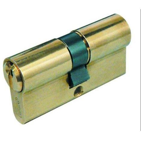 CILINDRO F5 DOBLE PERFIL 3040 LATON DOBLE EMBRAGUE