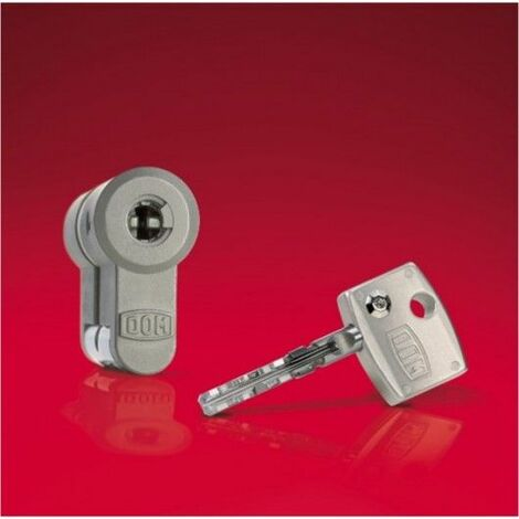 Cilindro Seguridad 30X50Mm Diamant Niquel Leva larga Dom