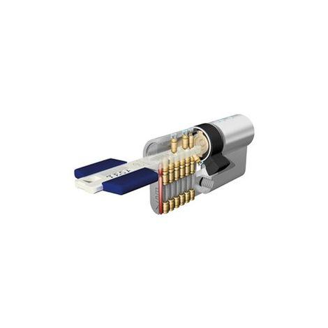 Cilindro Seguridad 30X50Mm Tx853050N Niquel Leva larga Tesa