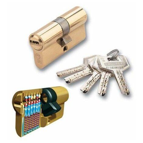 Cilindro Seguridad 35X35Mm 1001310 Niquel Leva larga Ezcurra