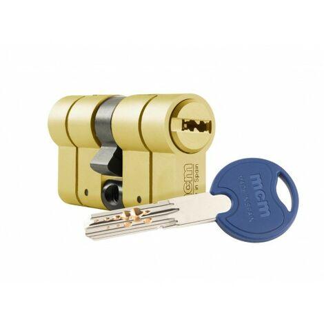 Cilindro Seguridad 40X40Mm Mcm Lat Scxplus Dob.Embr. Scx+De:40-40