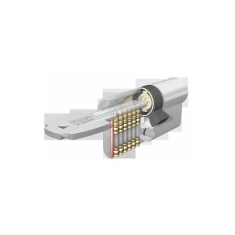 Cilindro Seguridad 45X45Mm M6504545N Niquel Leva corta Tesa