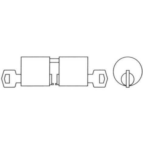 Cilindro tesa redondo 5000 /26x26/28 latonado